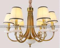 柏艺灯饰典雅室内LED水晶灯B5072/6创意简约新式风吊灯