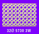 现代简约3W铝基板