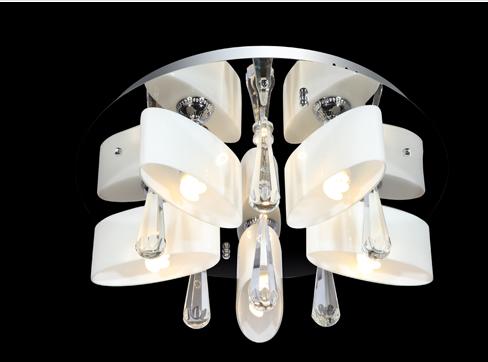 蓝色星空现代室内KX 9012/5+5玻璃吊灯