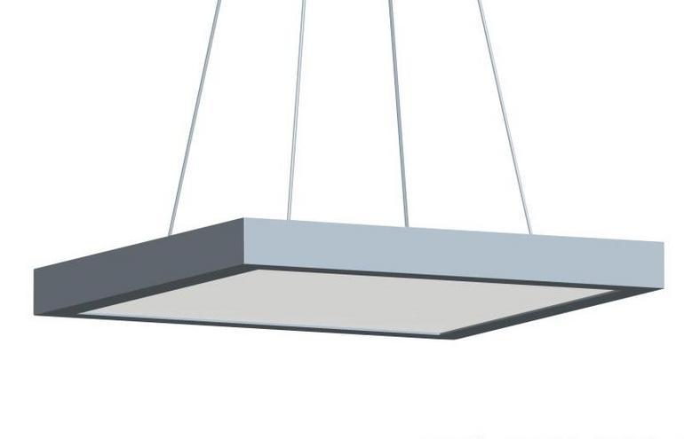 现代简约46W家居照明吊线平板灯LED面板灯