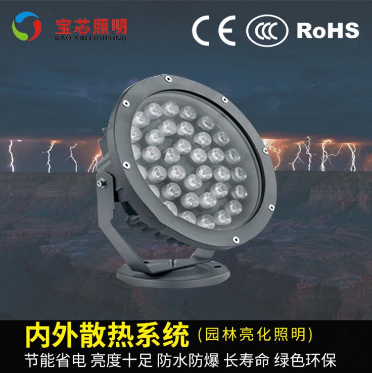 宝芯户外LED圆形亮化投光灯 BX-TGD-11