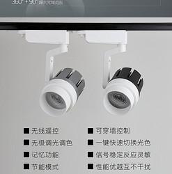 众用ZY-013遥控调光智能轨道灯