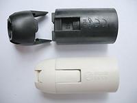 E14-S02 欧规 塑料 插线式 光身灯头