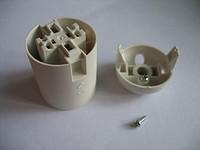 E27-S02 欧规塑料 插线式 光身灯头