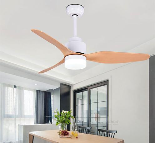 马卡龙风扇灯现代简约客厅家用电风扇吊灯北欧餐厅灯具风扇带灯