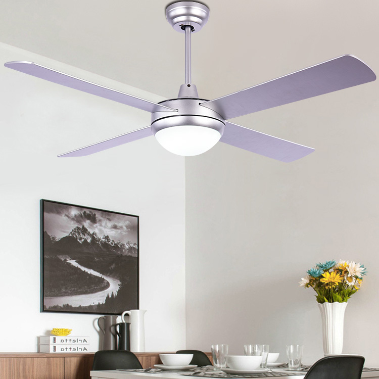 现代简约吸顶灯风扇灯商用时尚客厅餐厅卧室电风扇灯木叶吊扇灯
