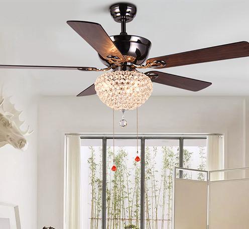 装饰餐厅卧室客厅led吊扇灯节能静音家居风扇灯