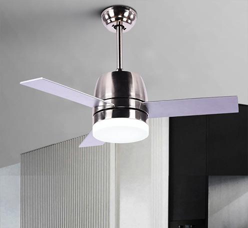 科佰实北欧风扇灯现代简约家居吊扇灯餐厅卧室吸顶吊灯隐形风扇灯
