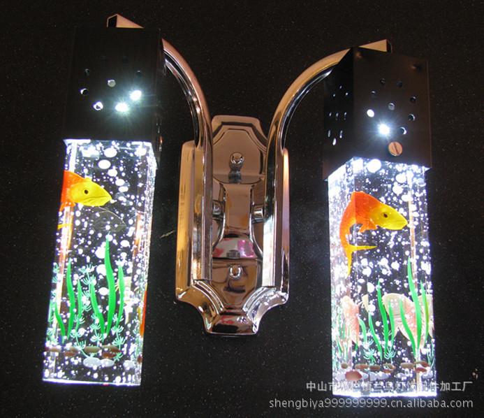 现代壁灯,LED壁灯,水晶柱,壁灯