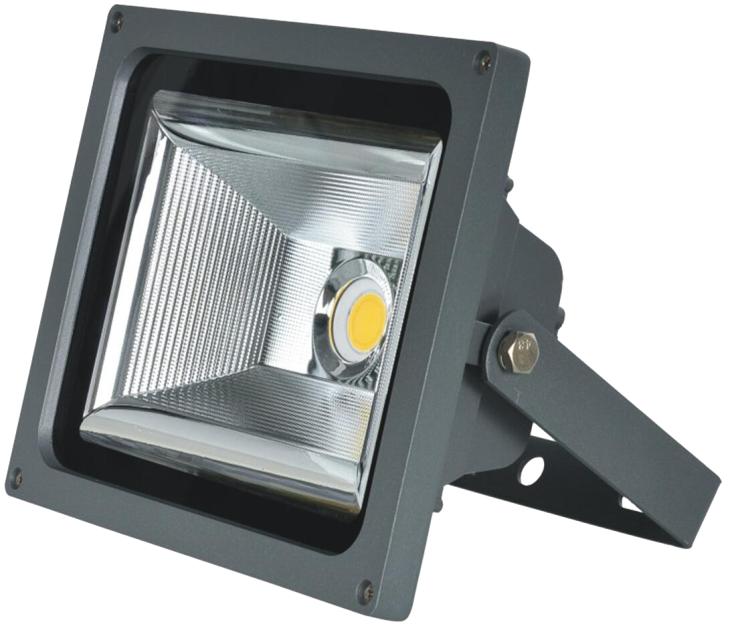 LED投光灯金钻COB室外防水灯投射灯泛光灯户外路灯广告灯