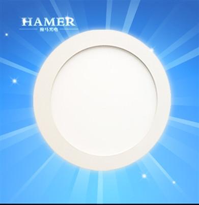 金盟 LED12W圆形超薄面板灯