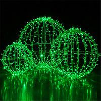 工厂专业直销户外防水装饰LED高亮度立体圆球造型灯 夜景圆球灯