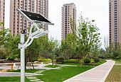 一体化太阳能LED庭院灯SO-8804