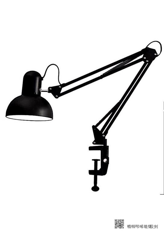 黑色台灯1