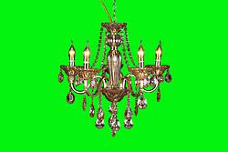 传统K5水晶蜡烛灯