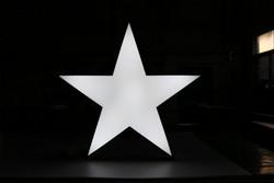 直径600五角星款办公灯