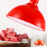 30W 红色大圆壳-红白光-加红