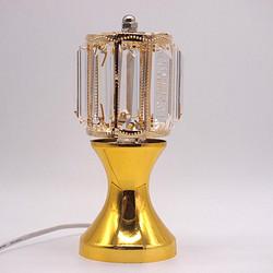 金色花瓶新圆柱水晶