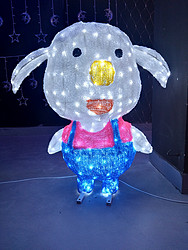 滴胶小猪造型灯