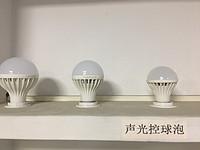 简约小功率声光控LED球泡