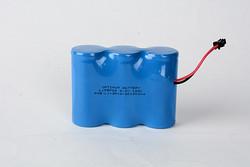 三并排磷酸铁锂电池组