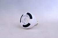 白色铝壳黄白光节能par灯