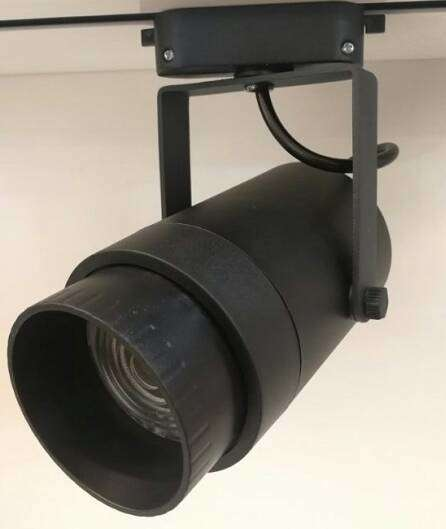 高配款黑色外壳单筒射灯