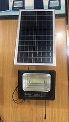 100W黑色太阳能投光灯