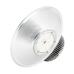 银色鳍片款吊链式LED工矿灯