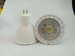 简约款白色螺旋面LED灯杯