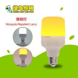 T型孔雀款白光-黄光LED驱蚊灯