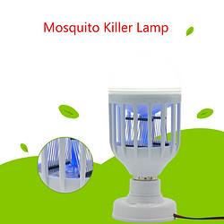 旧款白色含底座LED灭蚊灯