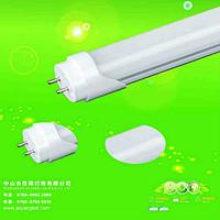常规方款塑铝白色分体支架灯