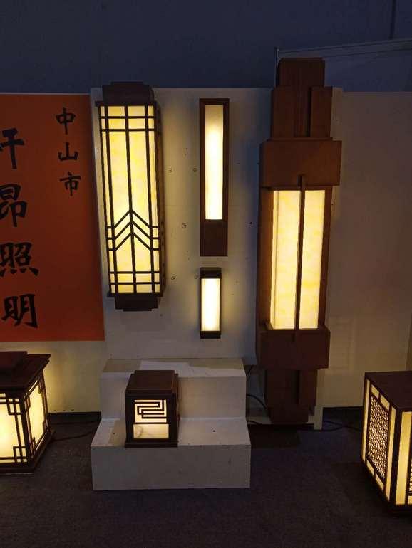 简约节能中式户外壁灯