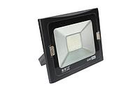 50W黑色薄款LED投光灯