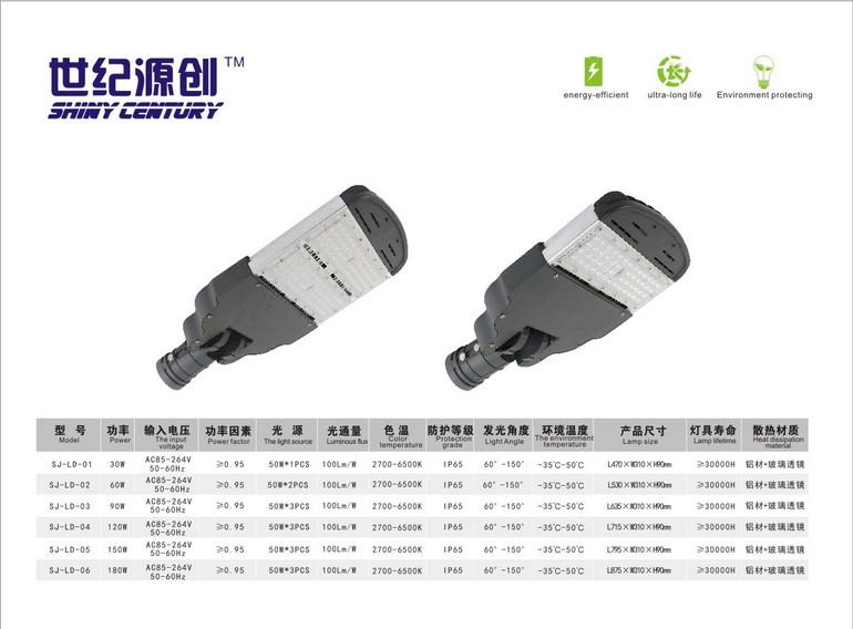 小金豆系列多瓦数灰色LED路灯