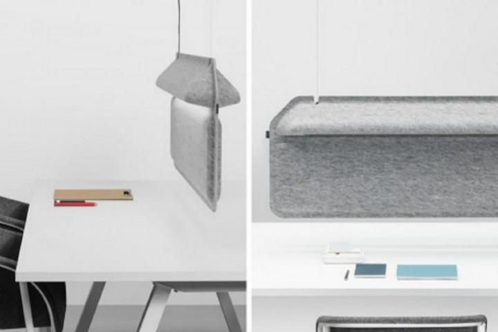 餐桌秒变办公桌 一物两用的分隔利器