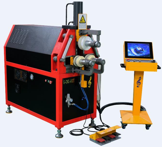 G-CNC-A12T-2Z三维数控弯管机