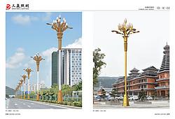 中华灯系列高杆户外路灯