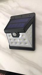 龙顿太阳能户外超亮感应壁灯