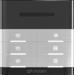 双路定阻灯具开关 灰色双声道立体声音控器 喇叭背景音乐灯具调节面板