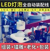 球泡灯LED装配i机  灯泡全自动生产线 荣裕智能机械