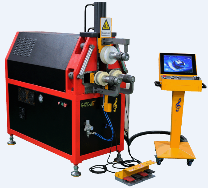 G-CNC-A12T二维数控滚弯机