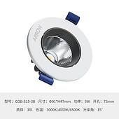 箭牌LED筒灯