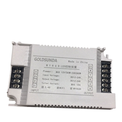 12V/24V低压灯带控制器 RGB+WY
