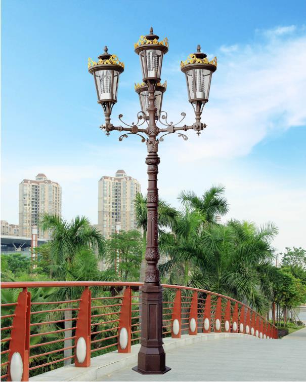 古典,多样性、美观性,庭院灯