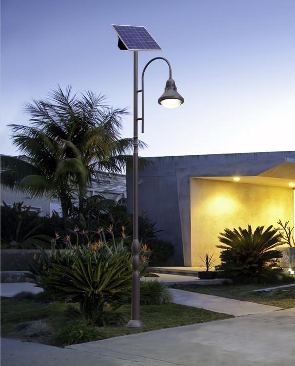 欧美风庭院街道太阳能路灯