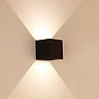 意米歐LED現代簡約戶外室內兩用壁燈 戶外壁燈 防水庭院燈 樓梯過道陽臺壁燈 現代簡約室外壁燈