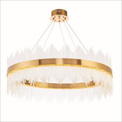 北欧后现代客厅水晶吊吊灯装饰灯厂家软装设计师轻奢吊灯