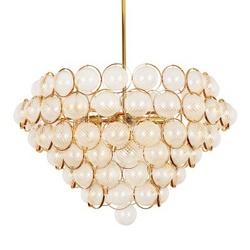 中山吊灯厂家后现代轻奢水晶吊灯北欧创意客厅灯设计师样板房餐厅吊灯